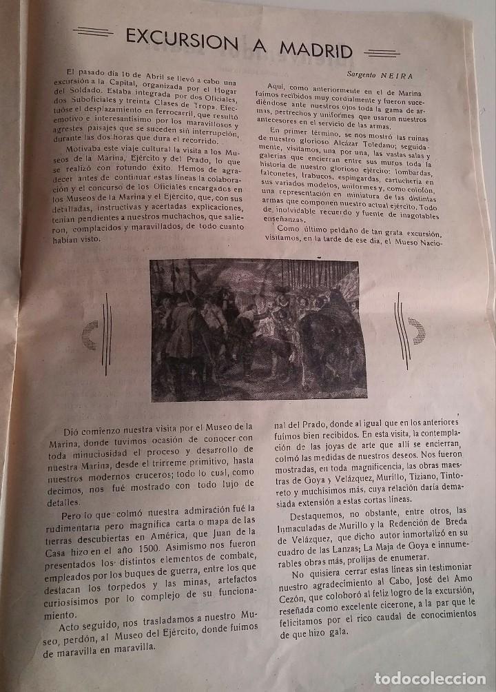 Militaria: Revista del hogar del soldado. Fuerza. Mayo 1953 - Foto 4 - 154728066