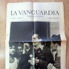 Militaria: (JX-190326)PERIÓDICO LA VANGUARDIA , 29 DE JULIO DE 1936 , GUERRA CIVIL , CUATRO PAGINAS .. Lote 154740086