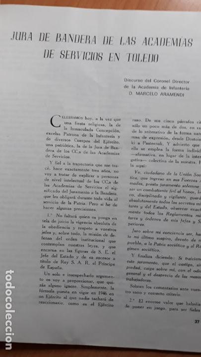 Militaria: RECONQUISTA. REVISTA DEL ESPÍRITU MILITAR ESPAÑOL Febrero 1973 nº 278 - Foto 2 - 155434938