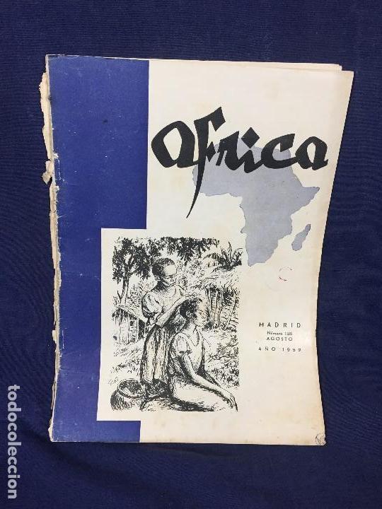 ANTIGUA REVISTA ÁFRICA Nº 128 AGOSTO AÑO 1952 GENERALÍSIMO FRANCO INFORMACIÓN AFRICANA (Militar - Revistas y Periódicos Militares)