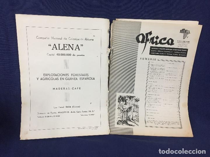 Militaria: ANTIGUA REVISTA ÁFRICA Nº 128 AGOSTO AÑO 1952 GENERALÍSIMO FRANCO INFORMACIÓN AFRICANA - Foto 5 - 155882018