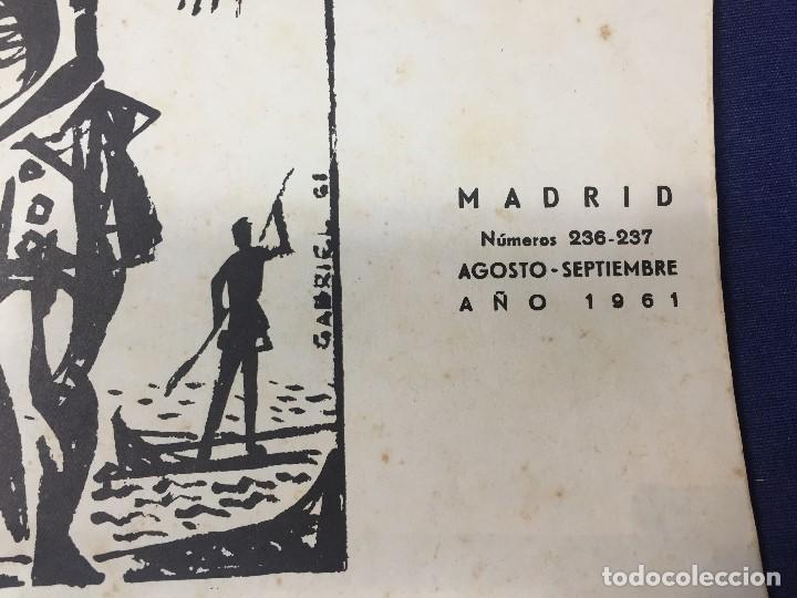 Militaria: revista áfrica nº 236 237 agosto septiembre generalísimo franco islam año 1961 - Foto 3 - 155903270