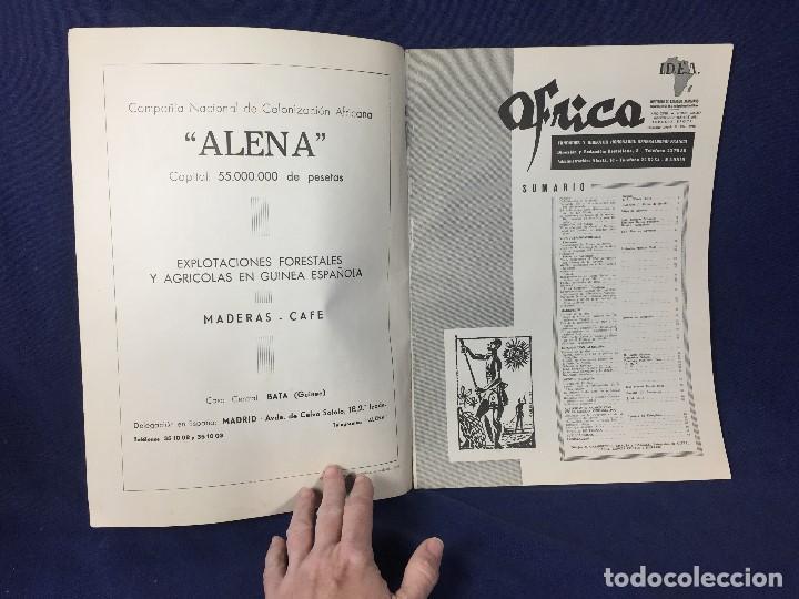 Militaria: revista áfrica nº 236 237 agosto septiembre generalísimo franco islam año 1961 - Foto 4 - 155903270