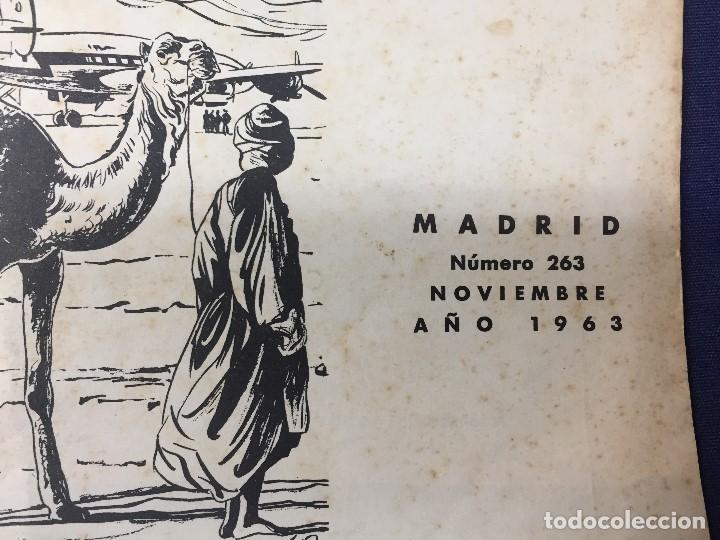 Militaria: revista áfrica nº 263 noviembre ño 1963 fundador y director generalísimo franco - Foto 3 - 155906626