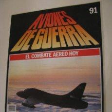 Militaria: AVIONES DE GUERRA. PLANETA DE AGOSTINI 1986. FASCICULO 91. Lote 156007006