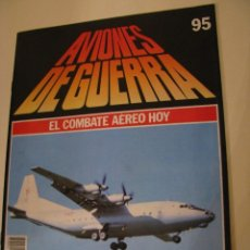 Militaria: AVIONES DE GUERRA. PLANETA DE AGOSTINI 1986. FASCICULO 95. Lote 156007118