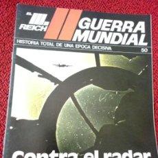 Militaria: FASCICULO N° 50 EL III REICH, II GUERRA MUNDIAL.. Lote 156038110