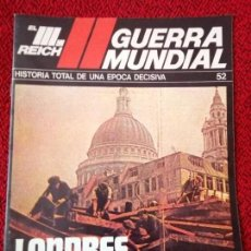 Militaria: FASCICULO N° 52 EL III REICH, II GUERRA MUNDIAL.. Lote 156041326