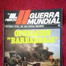 Militaria: FASCICULO N° 61 EL III REICH, II GUERRA MUNDIAL.. Lote 156227650