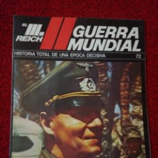 Militaria: FASCICULO N° 72 EL III REICH, II GUERRA MUNDIAL. . Lote 156479586