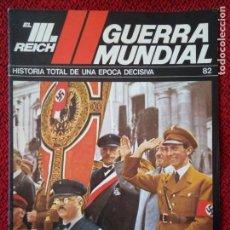 Militaria: FASCICULO N° 82 EL III REICH, II GUERRA MUNDIAL.. Lote 156481986