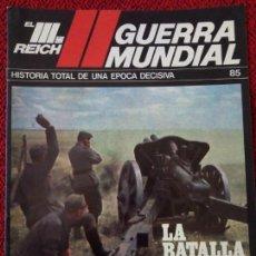 Militaria: FASCICULO N° 85 EL III REICH, II GUERRA MUNDIAL.. Lote 156482678