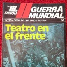Militaria: FASCICULO N° 86 EL III REICH, II GUERRA MUNDIAL.. Lote 156483162