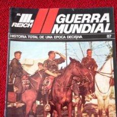 Militaria: FASCICULO N° 87 EL III REICH, II GUERRA MUNDIAL.. Lote 156483450