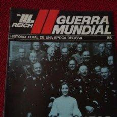 Militaria: FASCICULO N° 88 EL III REICH, II GUERRA MUNDIAL.. Lote 156483790