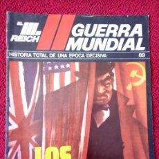 Militaria: FASCICULO N° 89 EL III REICH, II GUERRA MUNDIAL.. Lote 156484234