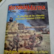 Militaria: EL CAMUFLAJE DE LOS VEHÍCULOS ACORAZADOS ALEMANES ( 1939/45). Lote 156911865
