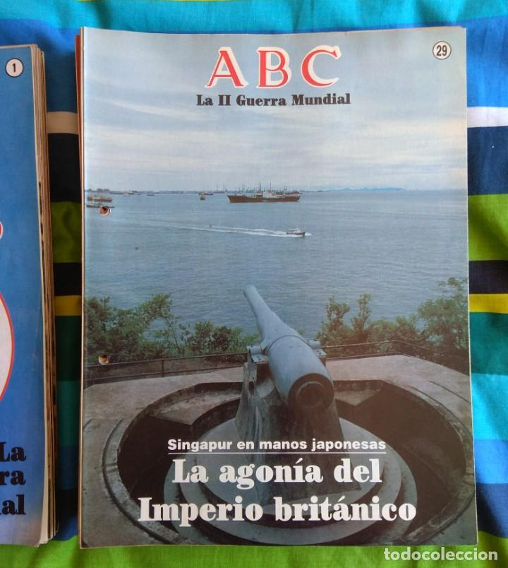 Militaria: ABC LA II GUERRA MUNDIAL - 99 FASCÍCULOS - Foto 3 - 156920914