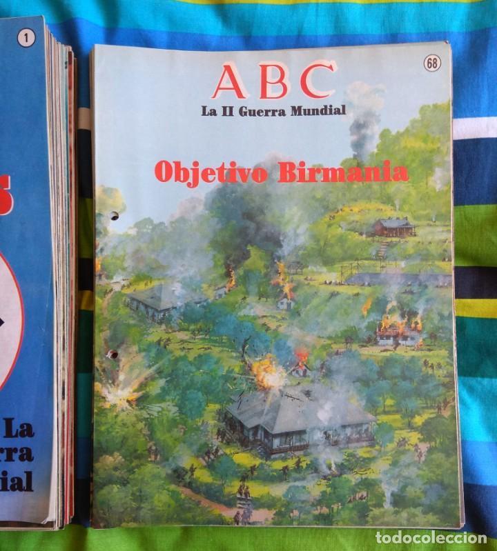 Militaria: ABC LA II GUERRA MUNDIAL - 99 FASCÍCULOS - Foto 4 - 156920914