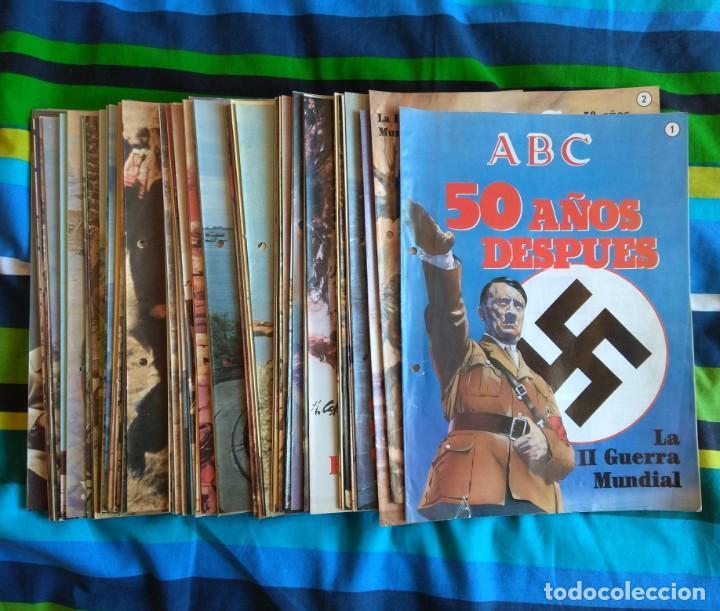 ABC LA II GUERRA MUNDIAL - 99 FASCÍCULOS (Militar - Revistas y Periódicos Militares)