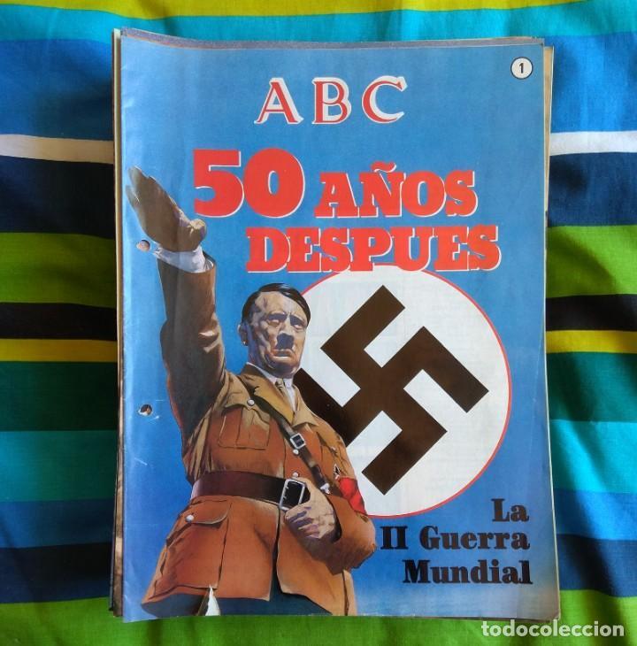 Militaria: ABC LA II GUERRA MUNDIAL - 99 FASCÍCULOS - Foto 2 - 156920914