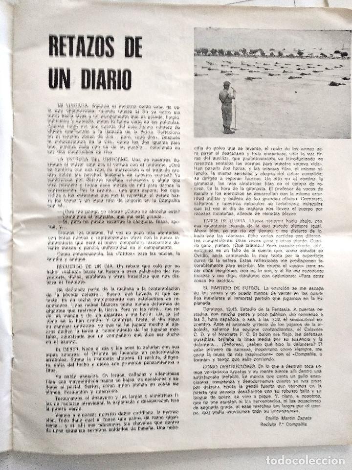 Militaria: RABASA REVISTA DEL CIR Nº 8 - JUNIO 1973 - EDITADO EN ALICANTE - 2º LLAMAMIENTO REEMPLAZO 72/73 - Foto 7 - 157887466