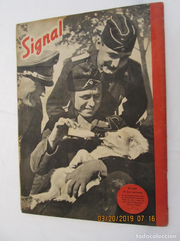 Militaria: REVISTA SIGNAL Nº 22 NOVIEMBRE 1941 - CASTELLANO - 47 PG. MUY BUEN ESTADO. - Foto 3 - 158297470