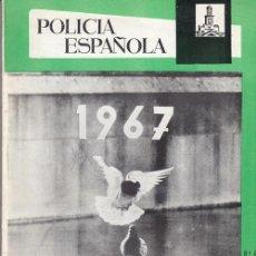 Militaria: REVISTA POLICIA ESPAÑOLA Nº 61 ENERO 1967. Lote 158379894