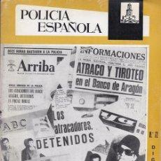 Militaria: REVISTA POLICIA ESPAÑOLA Nº 72 DICIEMBRE 1967. Lote 158380278