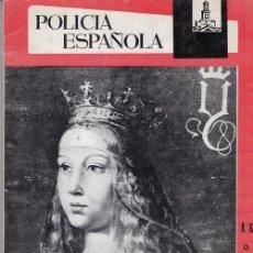 Militaria: REVISTA POLICIA ESPAÑOLA Nº 82 - OCTUBRE 1968. Lote 158380714
