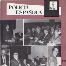 Militaria: REVISTA POLICIA ESPAÑOLA Nº 88- ABRIL 1969. Lote 158381306