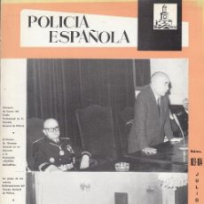 Militaria: REVISTA POLICIA ESPAÑOLA Nº 103 / 104 - JULIO - AGOSTO - 1970. Lote 158381626