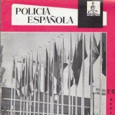 Militaria: REVISTA POLICIA ESPAÑOLA Nº 105 - SEPTIEMBRE - 1970. Lote 158381766