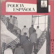 Militaria: REVISTA POLICIA ESPAÑOLA Nº 110 - FEBRERO - 1971. Lote 158382102