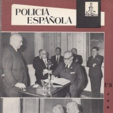 Militaria: REVISTA POLICIA ESPAÑOLA Nº 114 - JUNIO - 1971. Lote 158382230
