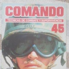 Militaria: REVISTA COMANDO TECNICAS DE COMBATE Y SUPERVIVENCIA.VOL.3, F 45 DE PLANETA DE AGOSTINI AÑO 1988.. Lote 158713822
