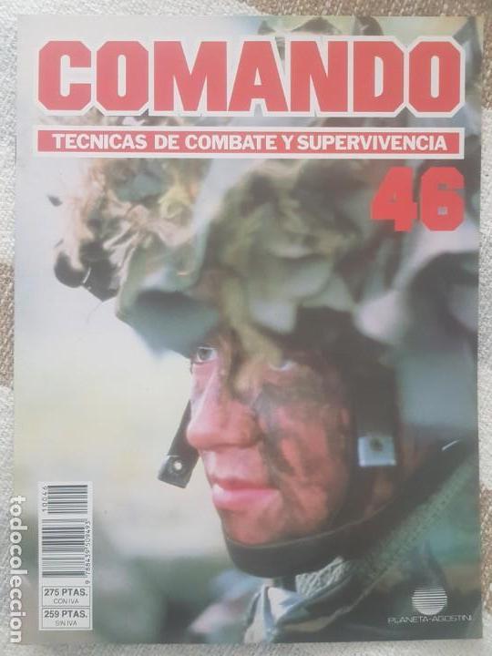 REVISTA COMANDO TECNICAS DE COMBATE Y SUPERVIVENCIA.VOL.3, F 46 DE PLANETA DE AGOSTINI AÑO 1988. (Militar - Revistas y Periódicos Militares)