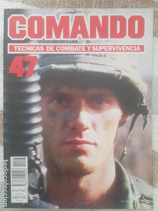 REVISTA COMANDO TECNICAS DE COMBATE Y SUPERVIVENCIA.VOL.3, F 47 DE PLANETA DE AGOSTINI AÑO 1988. (Militar - Revistas y Periódicos Militares)