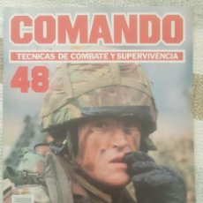 Militaria: REVISTA COMANDO TECNICAS DE COMBATE Y SUPERVIVENCIA.VOL.3, F 48 DE PLANETA DE AGOSTINI AÑO 1988.. Lote 158728650