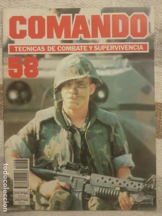 REVISTA COMANDO TECNICAS DE COMBATE Y SUPERVIVENCIA.VOL.4, F 58 DE PLANETA DE AGOSTINI AÑO 1988. (Militar - Revistas y Periódicos Militares)