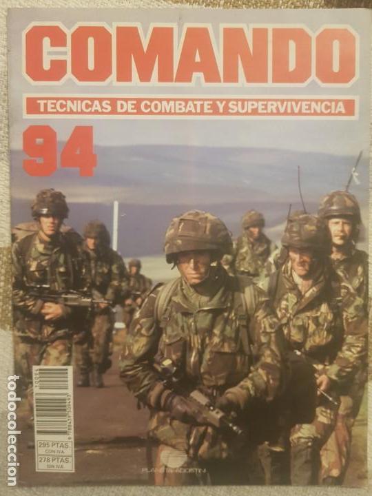 REVISTA COMANDO TECNICAS DE COMBATE Y SUPERVIVENCIA.VOL.6, F 94 DE PLANETA DE AGOSTINI AÑO 1988. (Militar - Revistas y Periódicos Militares)