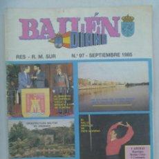 Militaria: CAPITANIA GENERAL DE SEVILLA : REVISTA DIANA , BAILEN . Nº 97 , 1985. Lote 158900350