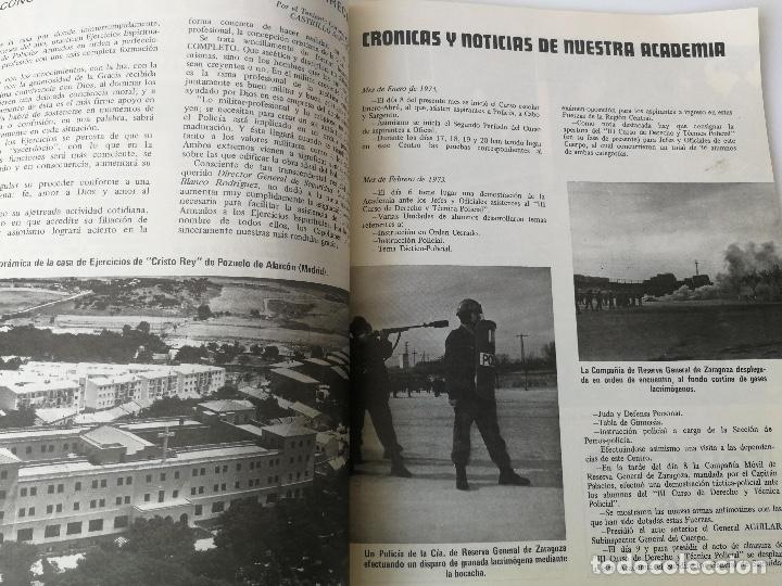 Militaria: ANTIGUA REVISTA - POLICIA ARMADA Nº 15 1973 - LOGROÑO, PRACTICAS TIRO EN LINARES, CETME, ALCALA DE H - Foto 4 - 159722494