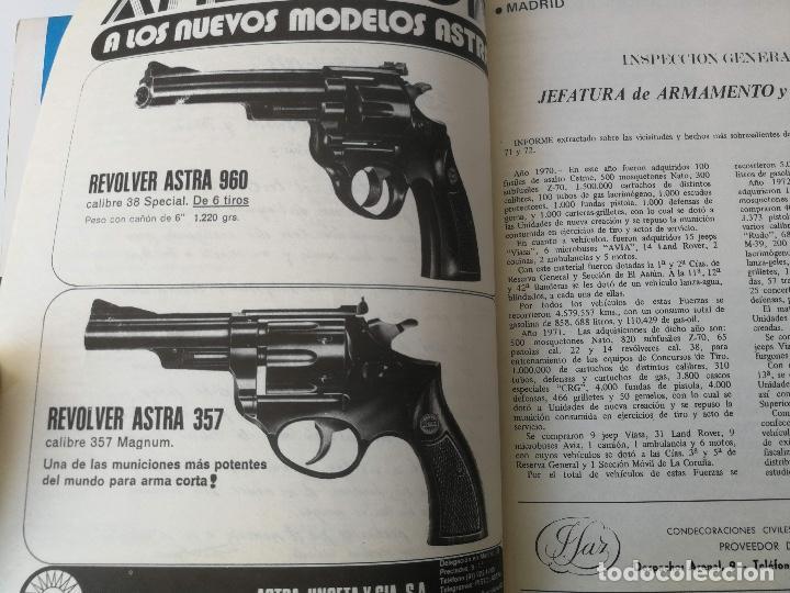 Militaria: ANTIGUA REVISTA - POLICIA ARMADA Nº 15 1973 - LOGROÑO, PRACTICAS TIRO EN LINARES, CETME, ALCALA DE H - Foto 5 - 159722494