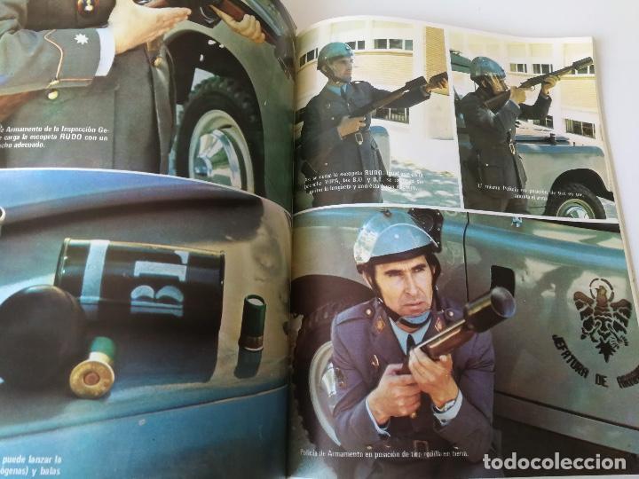 Militaria: ANTIGUA REVISTA - POLICIA ARMADA Nº 19 1973 - ESCOPETA RUDO, BANDERA 64 PAMPLONA, ORENSA, LA ACADEMI - Foto 2 - 159722786