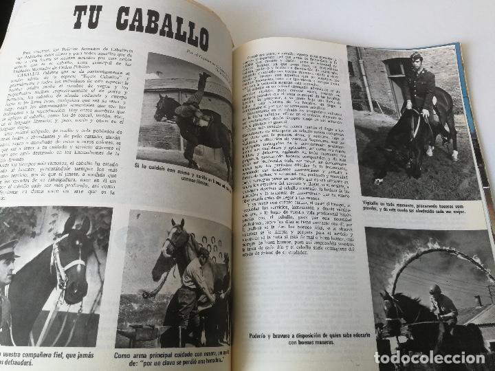 Militaria: ANTIGUA REVISTA - POLICIA ARMADA Nº 19 1973 - ESCOPETA RUDO, BANDERA 64 PAMPLONA, ORENSA, LA ACADEMI - Foto 4 - 159722786