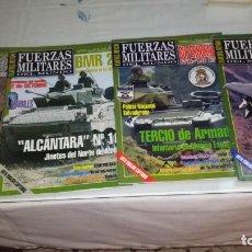 Militaria: LOTE 4 REVISTAS FUERZAS MILITARES. Lote 160288706