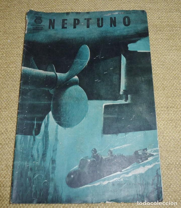 REVISTA NEPTUNO Nº 53, EN PORTUGUÉS Y ESPAÑOL, II GUERRA MUNDIAL (Militar - Revistas y Periódicos Militares)