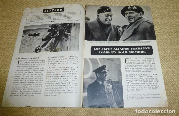 Militaria: Revista Neptuno nº 53, en portugués y español, II Guerra Mundial - Foto 3 - 162325374