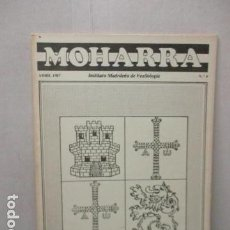 Militaria: REVISTA MOHARRA - INSTITUTO MADRIÑEÑO DE VEXIOLOGIA - Nº 4 - ABRIL 1987. Lote 162417270